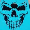 Skull türkis